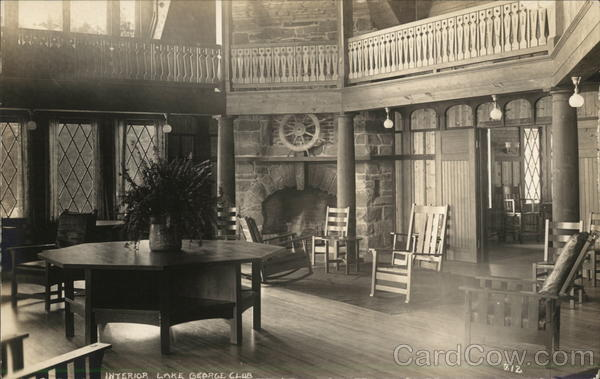 Interior Lake George Club Diamond Point New York