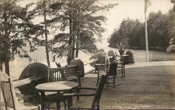 The Terrace, Lake George Club Diamond Point New York