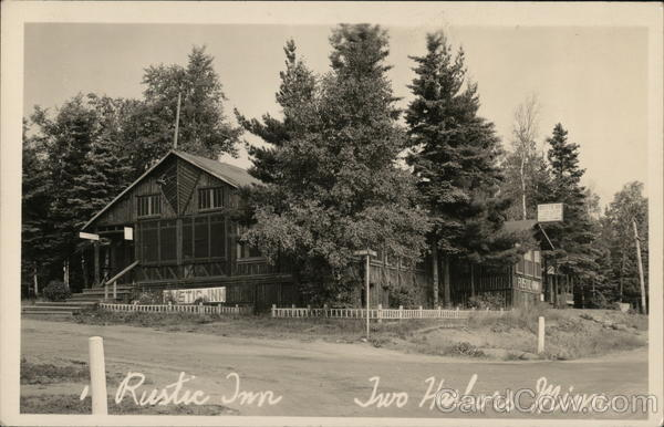 Rustic Inn Two Harbors Minnesota