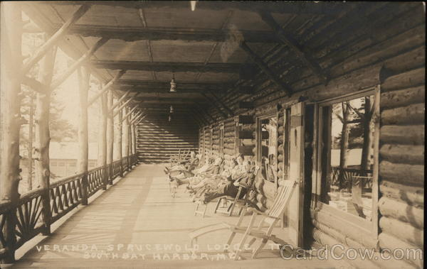 Veranda, Sprucewold Lodge