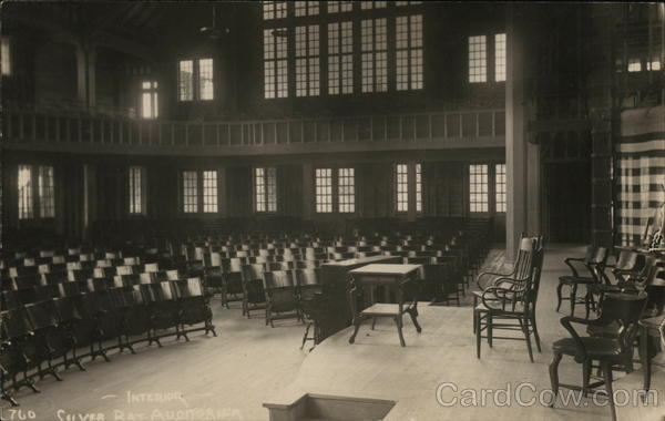 Interior, Silver Bay Auditorium New York