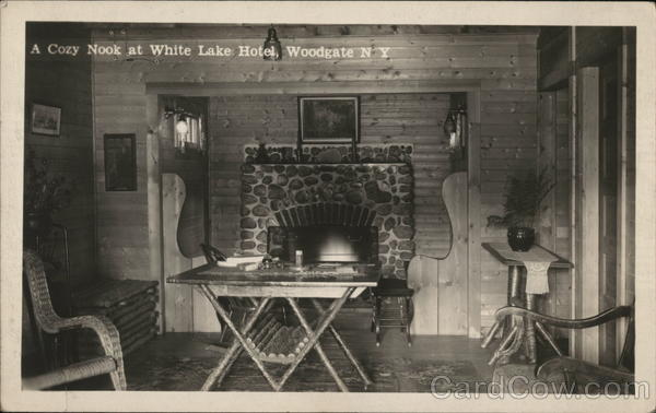 A Cozy Nook at White Lake Hotel Woodgate New York
