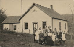 Students and District 9 School House built 1863