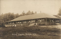 Camp Maqua Postcard