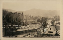 Main St. After Flood Nov. 3, 4 - '27