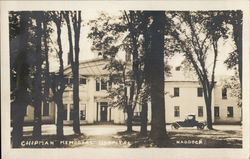 Chipman Memorial Hospital Postcard