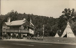 Indian Chief Trading Post Postcard