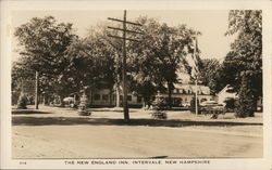 The New England Inn Postcard