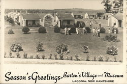 Season's Greetings, Barton's Village and Museum