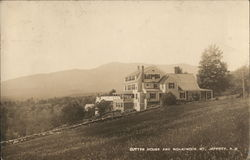 Cutter House and Monadnock Mt.