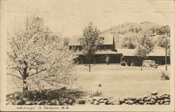 Whitneys' Postcard