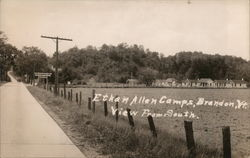 Ethan Allen Camps, View from South Postcard