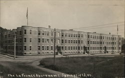 The LaFrance Apartments Postcard