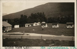 Grand View Cabins Postcard