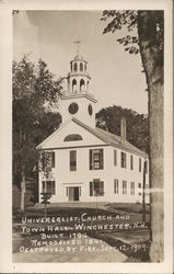 Universalist Church and Town Hall