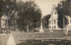 Common Before the 1909 Fire