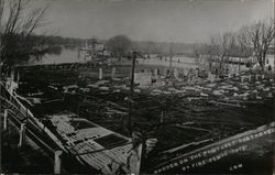 Rhodes on the Pawtuxet Destroyed by Fire Feb 11, 1915