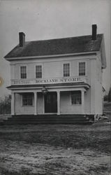 Rockland Store and Post Office Postcard