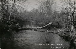 Source of Pawtuxet River