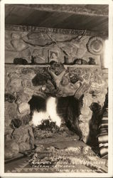 Fireplace at the Desert Traders