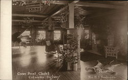 Crown Point Chalet, Columbia Highway Postcard