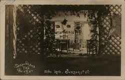 Shadowland Tea House, Echo Lake Postcard