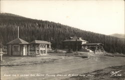 Echo Lake Lodge and Rustic Filling Station