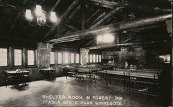 Shelter Room in Forest Inn, Itasca State Park