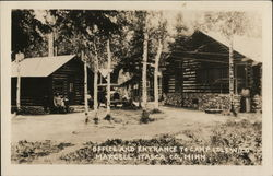 Office and Entrance to Camp Idlewild