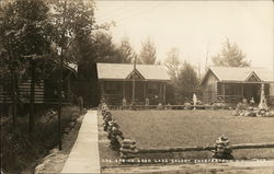 Log Cabins, Cook Lake Colony