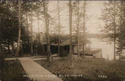 ALC Mountain Lodge Boat House, Little Moose Lake