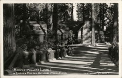 Manzanita Lake Lodge Postcard