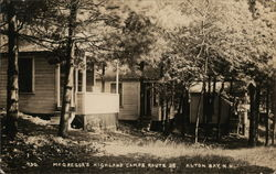 McGregor's Highland Camps, Route 28 Postcard