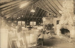 Office and Dining Room, Round Mountain Lakes Camps