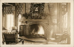 Fireplace Lobby at Hotel Quinault