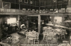 Trout Valley Lodge Postcard