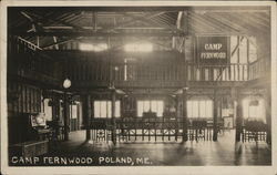 Camp Fernwood Postcard