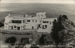 Cheyenne Lodge at Top of Mt. Broadmoor-Cheyenne Mt. Highway, Alt. 9,300 Ft.
