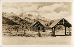 Church of the Transfiguration, Teton N.P. Postcard