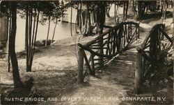 Rustic Bridge and Lovers Walk