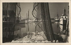 Hatteras Harbor Postcard