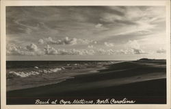 Beach at Cape Hatteras Postcard