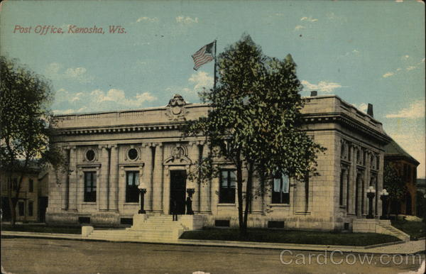Post Office Kenosha Wisconsin