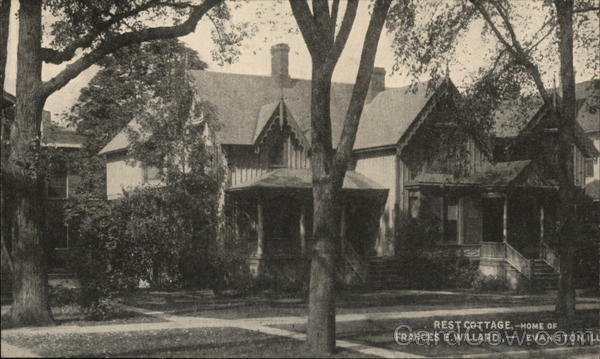 Rest Cottage, Home of Frances E. Willard Evanston Illinois