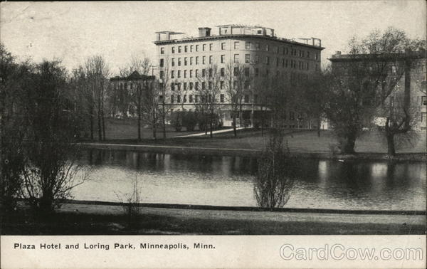 Plaza Hotel and Loring Park Minneapolis Minnesota