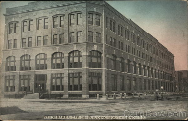 Studebaker Office Building South Bend Indiana Cars