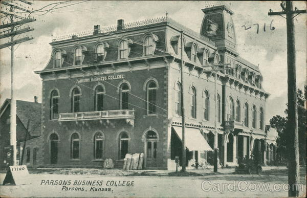 Parsons Business College Kansas