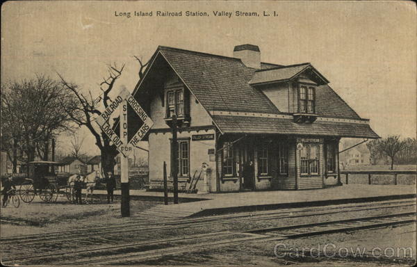 Long Island Railroad Station Valley Stream New York