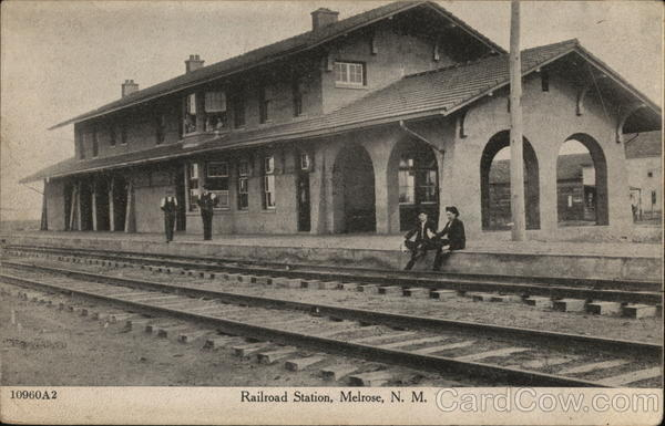Railroad Station Melrose New Mexico Depots