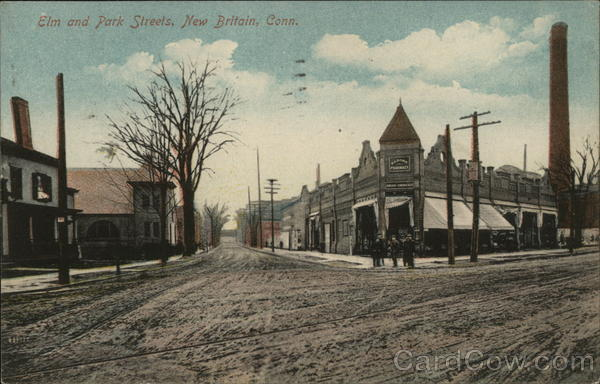 Elm and Park Streets New Britain Connecticut